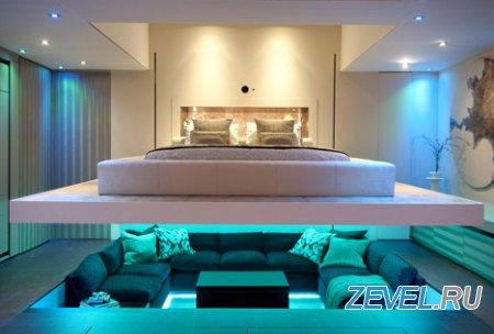 Инновации в дизайне интерьера на примере одной квартиры