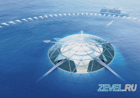 Японцы готовы строить первый в мире подводный город