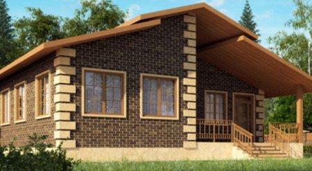 Что из себя представляют одноэтажные каркасные дома?